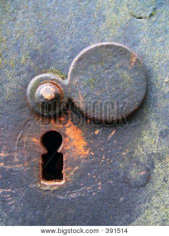 Weathered Keyhole