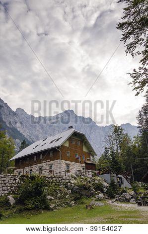 Alpine Hut In Vrata Valley