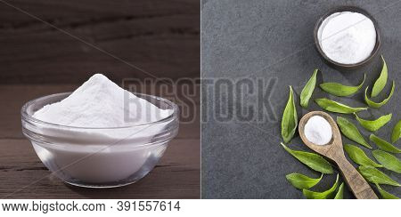 Stevia Rebaudiana, Plant Replaces Sugar - Text Space