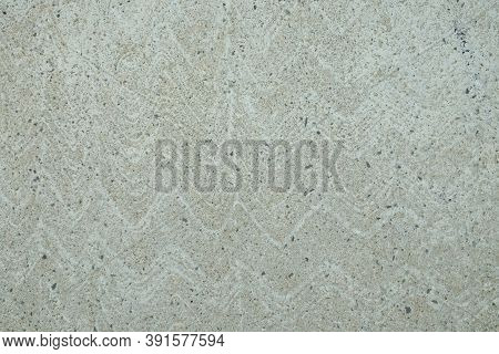 Wave-patterned Cement Wall. Cement Texture, Grunge Wall