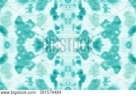 Seamless Cobra Pattern. Anaconda Leather Wild Surface. Trendy Zoo Wallpaper. Blue And White Colors.