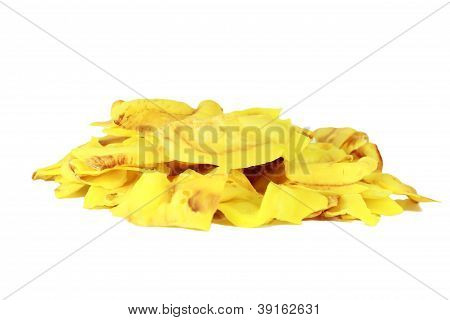 Durian Fried Flavored With Salt