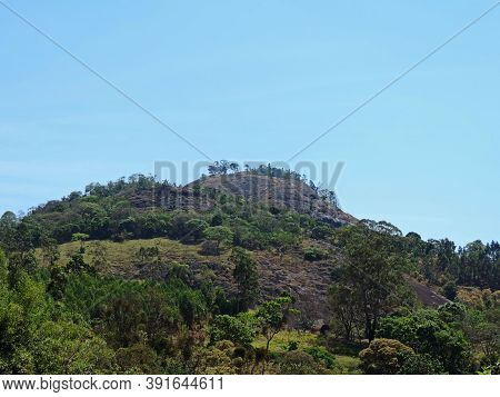 A Rocky Hill In Pedra Bela City, Sao Paulo State, Brazil