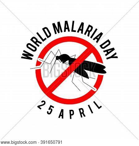 World Malaria Day Background Vector Image. World Malaria Day Concept Style Vector Image