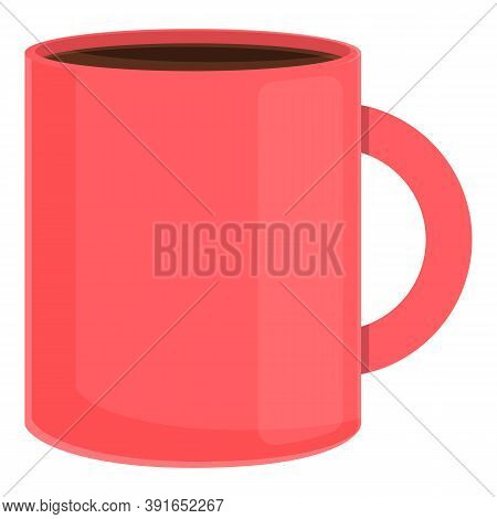 Morning Coffee Mug Icon. Cartoon Of Morning Coffee Mug Vector Icon For Web Design Isolated On White
