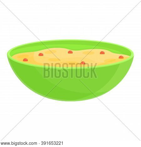 Breakfast Berry Muesli Icon. Cartoon Of Breakfast Berry Muesli Vector Icon For Web Design Isolated O