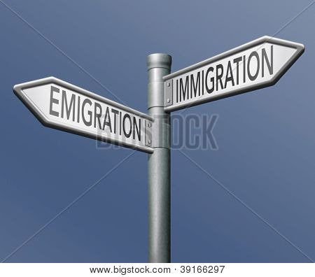 migration immigration and emigration urbanization visa or green card to become citizen