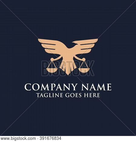 Modern Eagle Law Firm Logo Designs, Best For Your Trademark Law Firm Commercial Brand