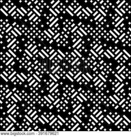 Seamless Abstract Pattern. Tribal Motif. Ethnic Ornament. Ancient Mosaic. Ethnical Folk Image. Embro