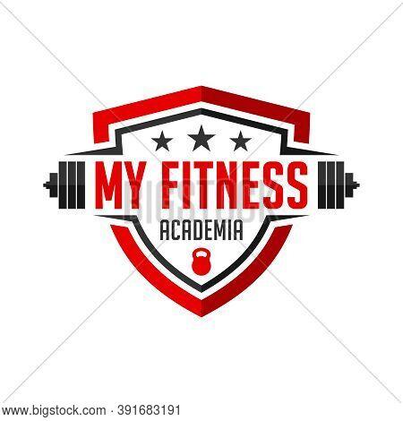 Logo My Fitness Academy You Company Or Brand