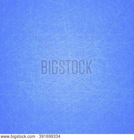 Ice Vector Texture Winter Frost Surface. Cold Textured Background. Ice Hockey Rink Illustration. Win