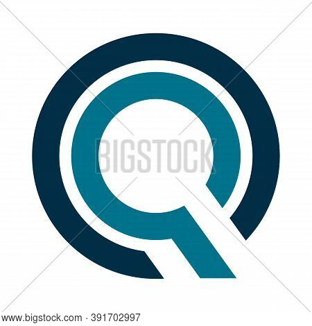 Abstract Letter Q Logo Vector Illustration Design. Initial Letter Q, Minimalist And Modern Letter Q