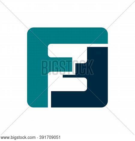 F. F Monogram Logo. F Letter Logo Design Vector Illustration Template. F Logo Vector. Creative Lette