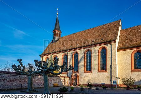 The St. Magdalena Cloister In Speyer In Rhineland-palatinate, Germany