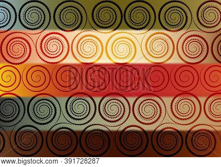 African Colors Print Fabric, Ethnic Handmade Ornament For Your Design, Ethnic And Tribal Motifs Geom