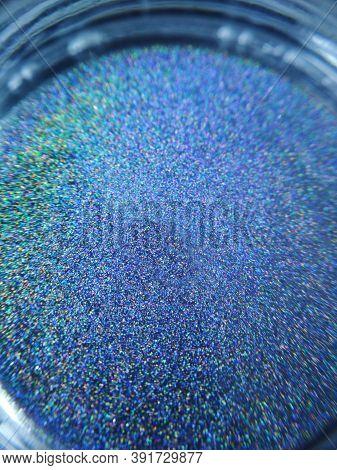 Macro Photo Holographic Rainbow Eye Shadow Pigment Glitter Gloss Cosmetic Make-up
