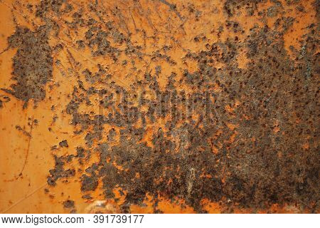Rusted Metal Texture Background. Abstract Corroded Iron Color Wallpaper. Metal Rust Background, Old