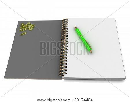 Notebook With A Spiral