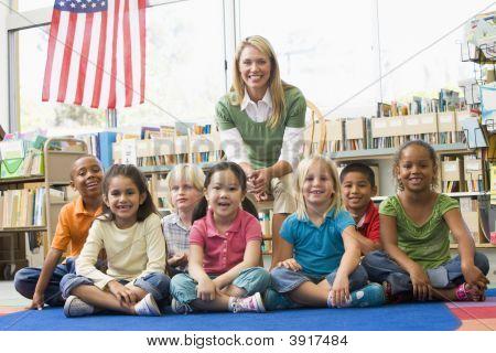 Class Portrait With Teacher