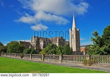 Dublin, Ireland - 03 Aug 2013: Saint Patrick Cathedral In Dublin City, Ireland