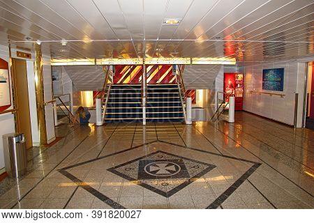 Oslo, Norway - 27 Jun 2012: The Ferry In Oslo, Norway, Scandinavia