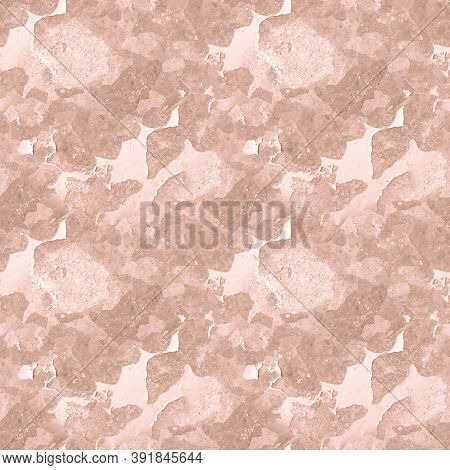 Beige Dirty Grunge Retro. Art Abstract Illustration. Dirt Stone Effect. Paint Structure. Pale Rough