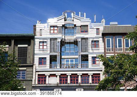 The Vintage House On Karl Johans Street, Oslo, Norway