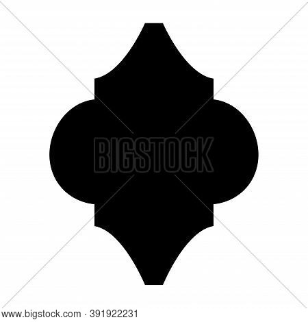 Arabesque Tile Template. Lantern Arabesque Tile Template