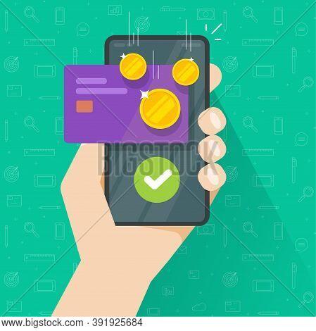 Mobile Phone With Money Bonus Reward, Cellphone Smartphone Cashback, Cash Returned Back Income Recei