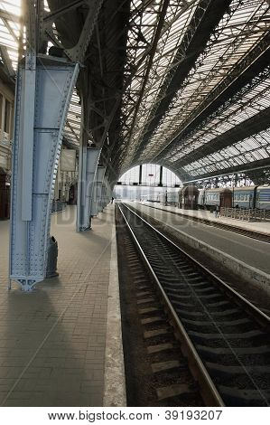 Railway Station In Lvov