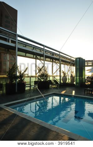 Sunset Rooftop Pool