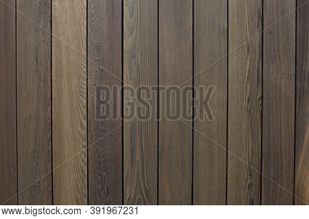Dark Wood Texture, Natural Background. Wood Wall Surface, Wooden Texture, Vertical Boards.