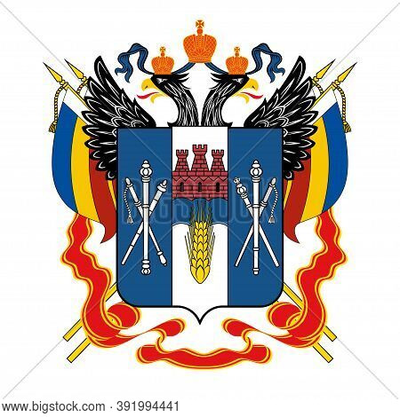 Coat Of Arms Of Rostov Oblast Of Russia