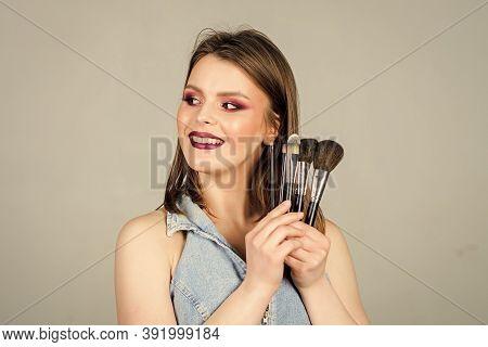 Pure Beauty. Fashion Makeup Visage. Sexuality. Skincare Cosmetics. Beauty Hairdresser Salon. Lipstic