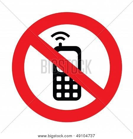 Silent Your Mobile Phone Sign