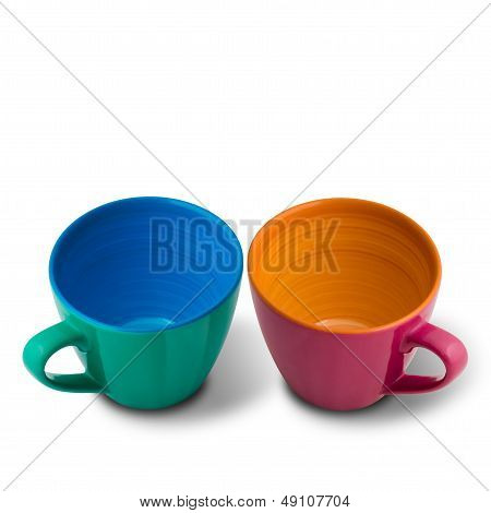 Two Beautiful Colors Ceramic Cup