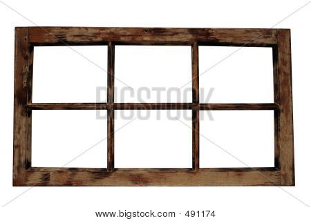 Weathered Window Frame