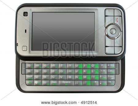 Modern Mobile Phone Isolated