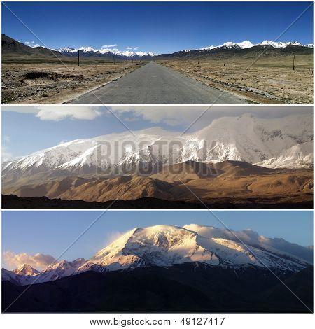 Karakoram Mountains In China