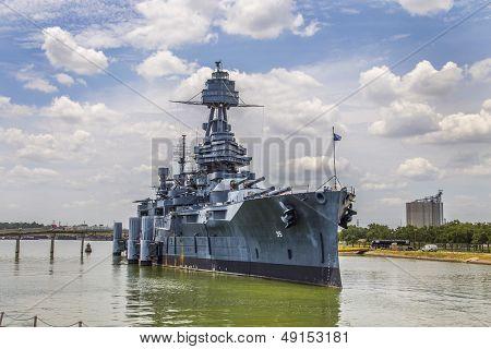 The Famous Dreadnought Battleship Texas