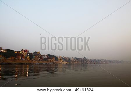 Varanasi at sunrise