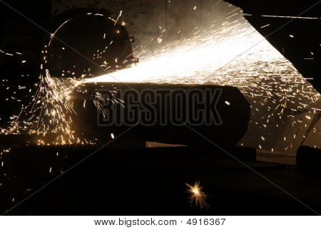 Titanium Bar Cut