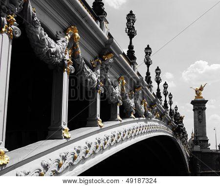 Beautiful Parisian Bridge