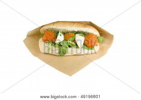 Luxury Sandwich Steak Tartare.