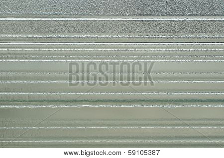 Opaque frosted glass