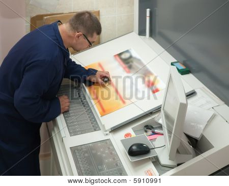 Printer Checking A Print Run