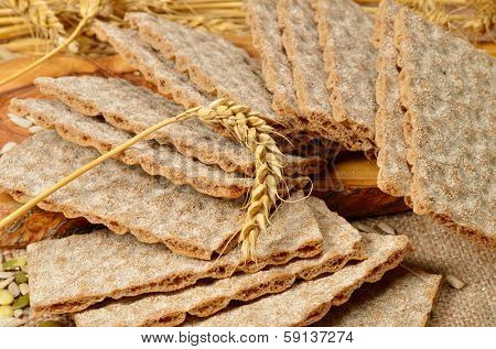 cereal crackers and seeds