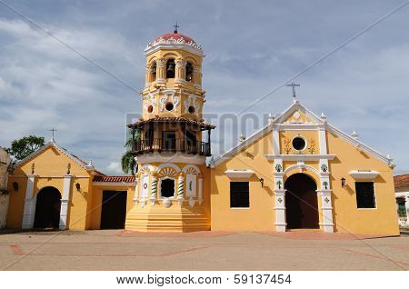 Colombia, View On The Old Mompos