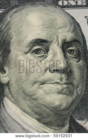 Ben Franklin Close-up