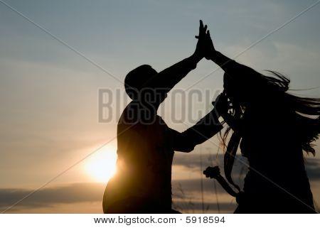 Dancing In Sunset